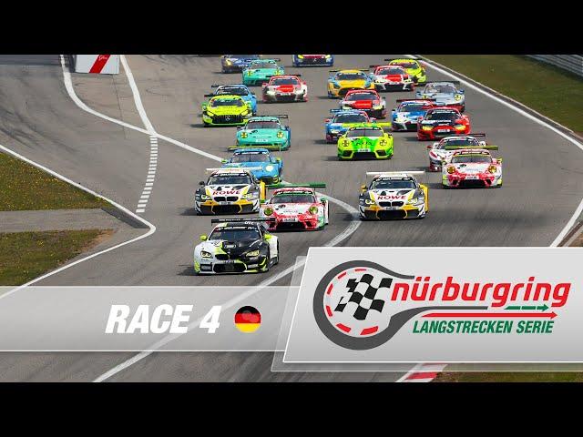 LIVE: Rennen 4 Nürburgring Langstrecken-Serie 2021 (NLS)