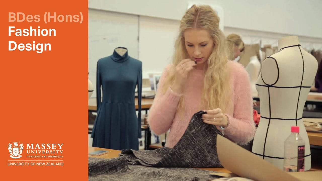 Bdes At Massey Fashion Design Massey University Youtube