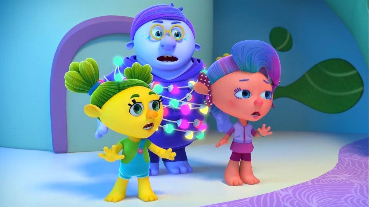 Любознательность– Монсики – мультфильм для детей – Чувства и эмоции - новый год