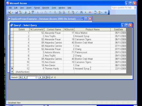 Microsoft Access ® 2003 Sales Invoice: 1 Relationships - Youtube