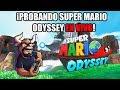 ¡Retro Toro en vivo! - ¡Probando Mario Odyssey!