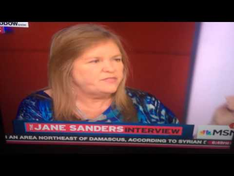 Classy Jane Sanders puts pundits in their place