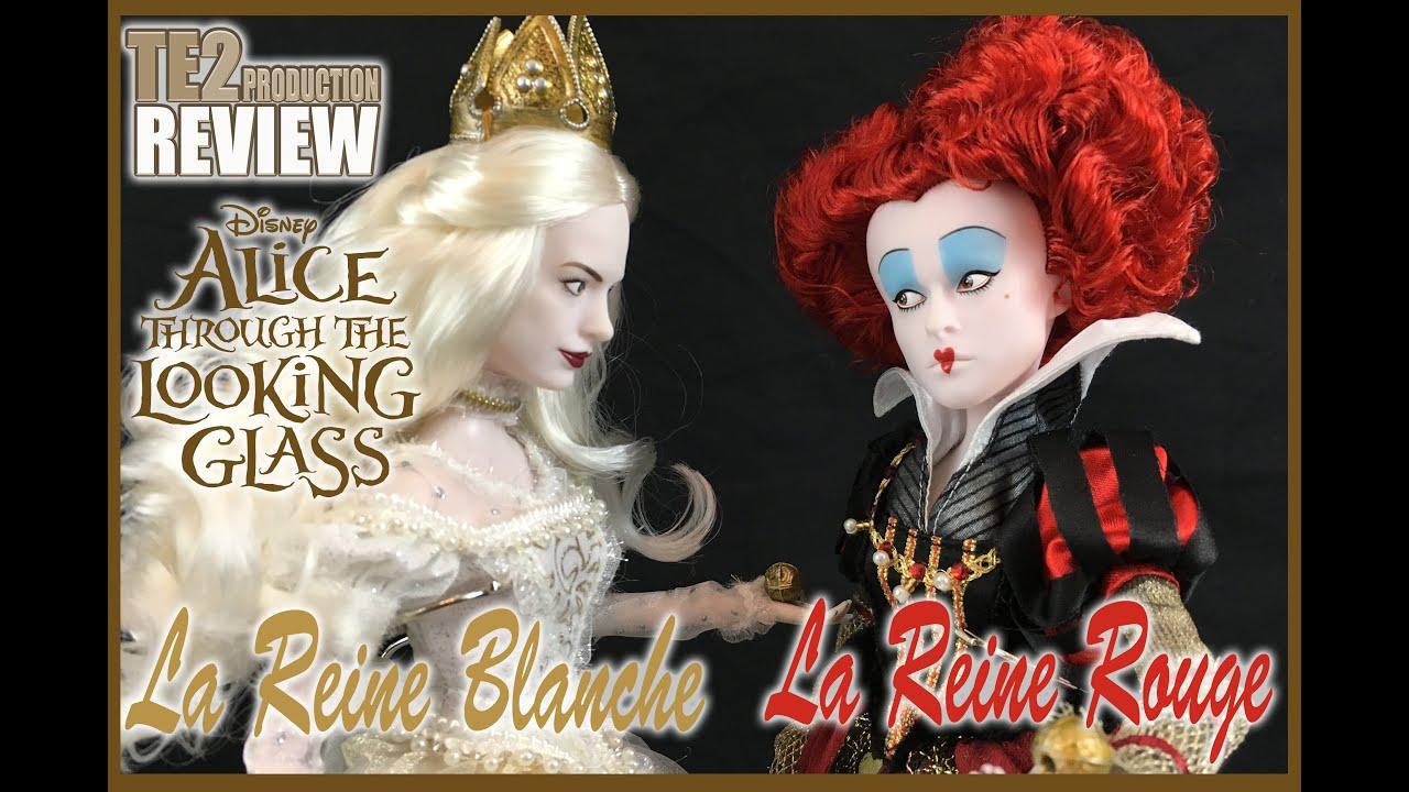 Review disney alice de l 39 autre c t du miroir reines for Miroir rouge