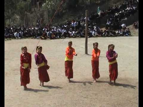 Nepali dance at SUMI, Kalimpong, India