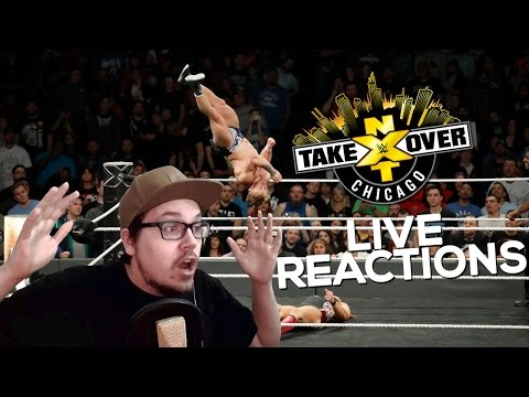 Match of the Year!!!   WWE NXT TAKEOVER CHICAGO LIVE REACTIONS!   German/Deutsch