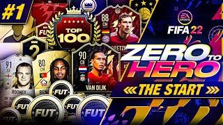 FIFA 22 Zero to Hero - The Start!