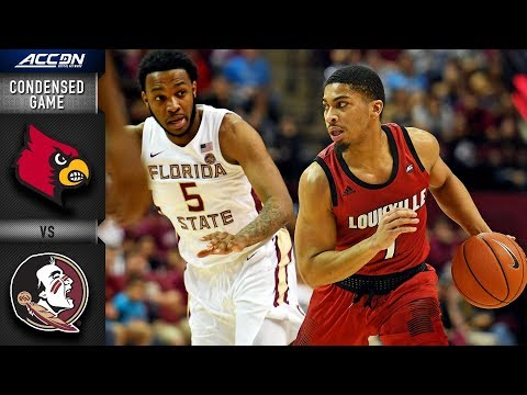 Florida State vs. Louisville Condensed Game | 2018-19 ACC Basketball