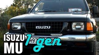 Военный японский джип - Isuzu MU, 1994, 4JB1, 110 hp - краткий обзор