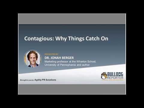 Webinar Essentials - Contagious: Why Things Catch On