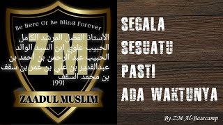 Zaadul Muslim Syair USTADZ What is it ZM