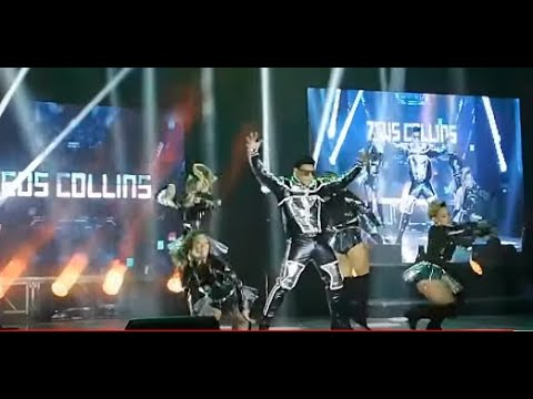 ZEUS COLLINS - (OPENING) The Dance Machine Concert