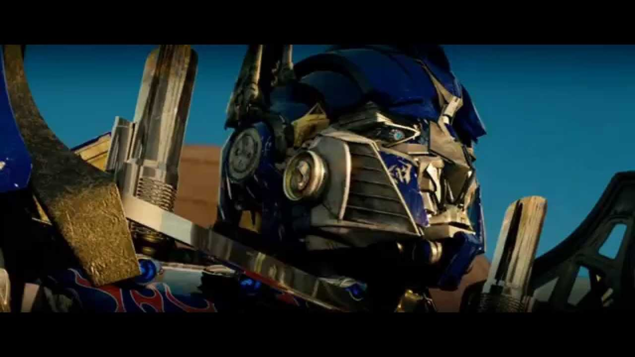 "transformers (2007) autobots meeting (""autobots, roll out"") scene"