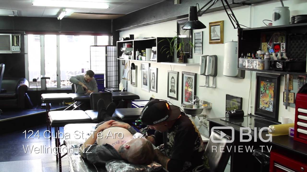 Cuba st tattoo shop in wellington nz for tattoo designs for Tattoo shop design