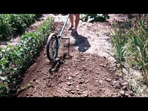 Плоскорез из велосипеда своими руками видео