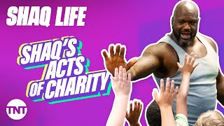 Shaq Life: Shaq's Acts of Charity [MASHUP] | TNT