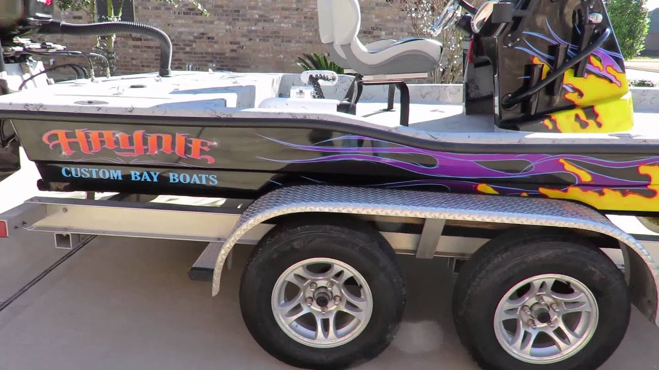 2012 Haynie Custom Bay Boat