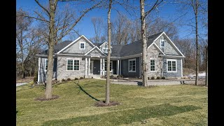 Open Concept Custom Ranch Home at Stony Creek Retreat in South Elgin, IL