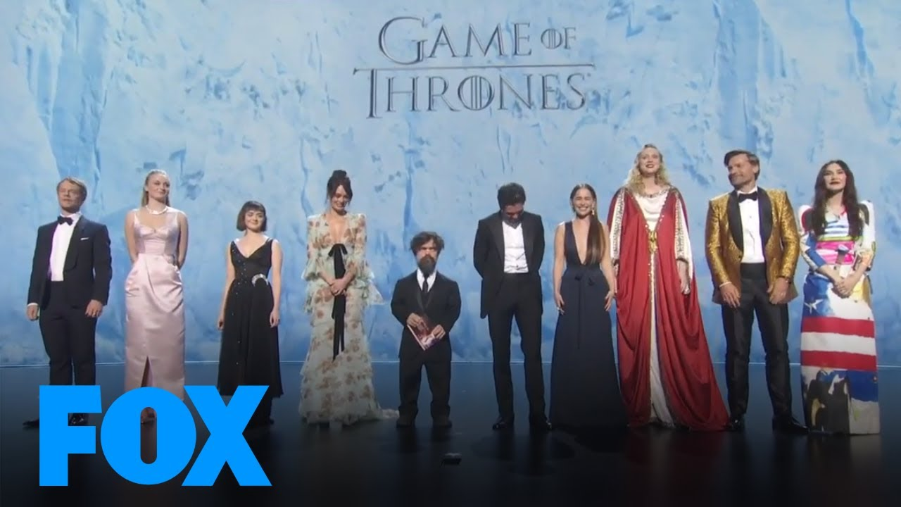 Game Of Thrones Cast Presents Supporting Actress In Limited Series Or Movie | EMMYS LIVE! 2019