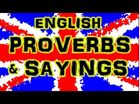 English Proverbs and Sayings · UK Pronunciation