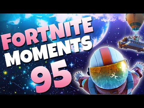 THE CRAZIEST KNOCK EVER!! (FLYING NO-SCOPE) | Fortnite Daily Funny and WTF Moments Ep. 95