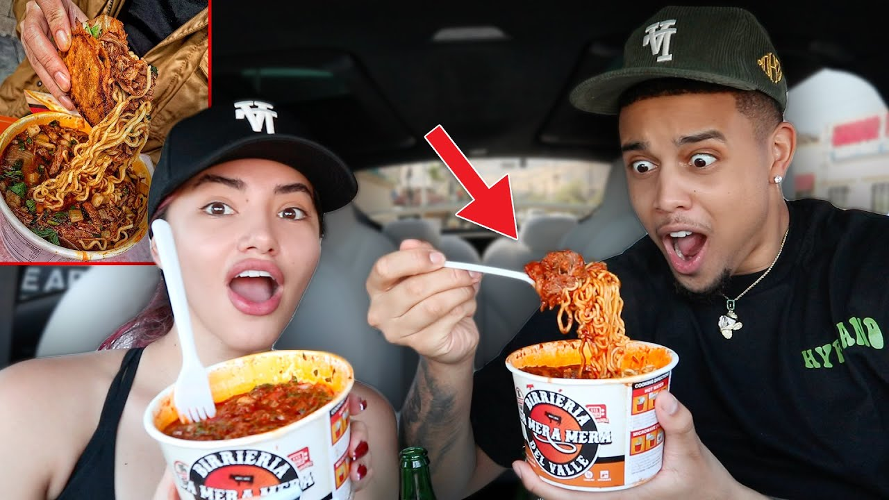 TRYING BIRRIA RAMEN NOODLES FOR THE FIRST TIME!! **AMAZING**