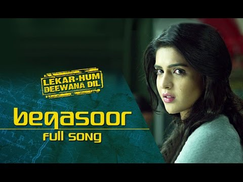 Beqasoor (Video Song) | Lekar Hum Deewana Dil | Armaan Jain & Deeksha Seth thumbnail