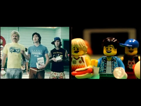 Cole Selleck - Blink-182's First Date Video Remade Using LEGOs