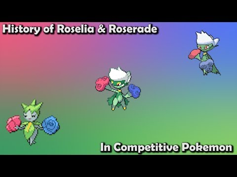 How GOOD Were Roselia & Roserade ACTUALLY? - History Of Roselia & Roserade In Competitive Pokemon