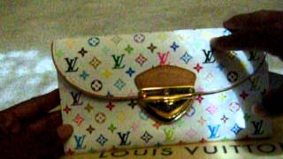 Louis Vuitton Multicolor Eugenie Wallet - Fashionphile Haul Thumbnail