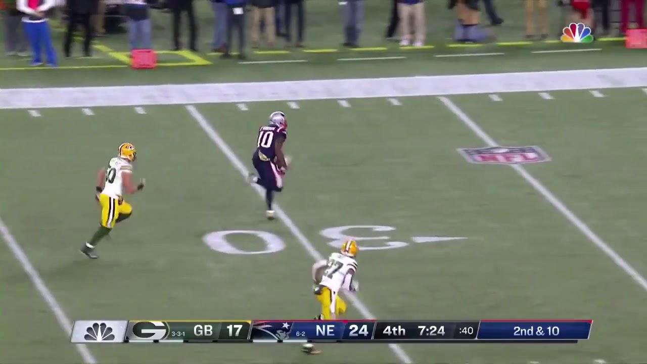 aea4c99cfa7 Josh Gordon 55-Yard Touchdown | Patriots vs Packers - YouTube