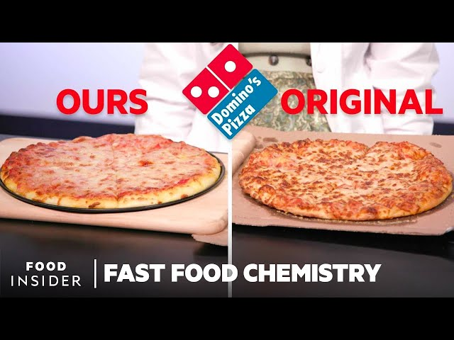 Making A Domino's Pizza Using All 56 Ingredients | Fast Food Chemistry