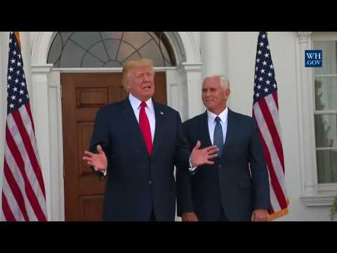 FULL: President Trump holds a Press Conference on North Korea 8/10/17