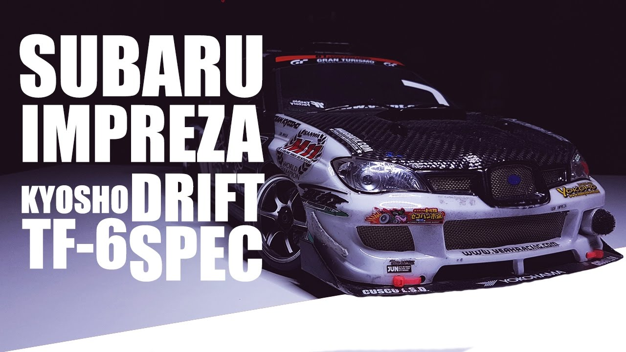 Used N Abused Subaru Impreza Drift Spec Rc Kyosho Tf 6 Yokomo