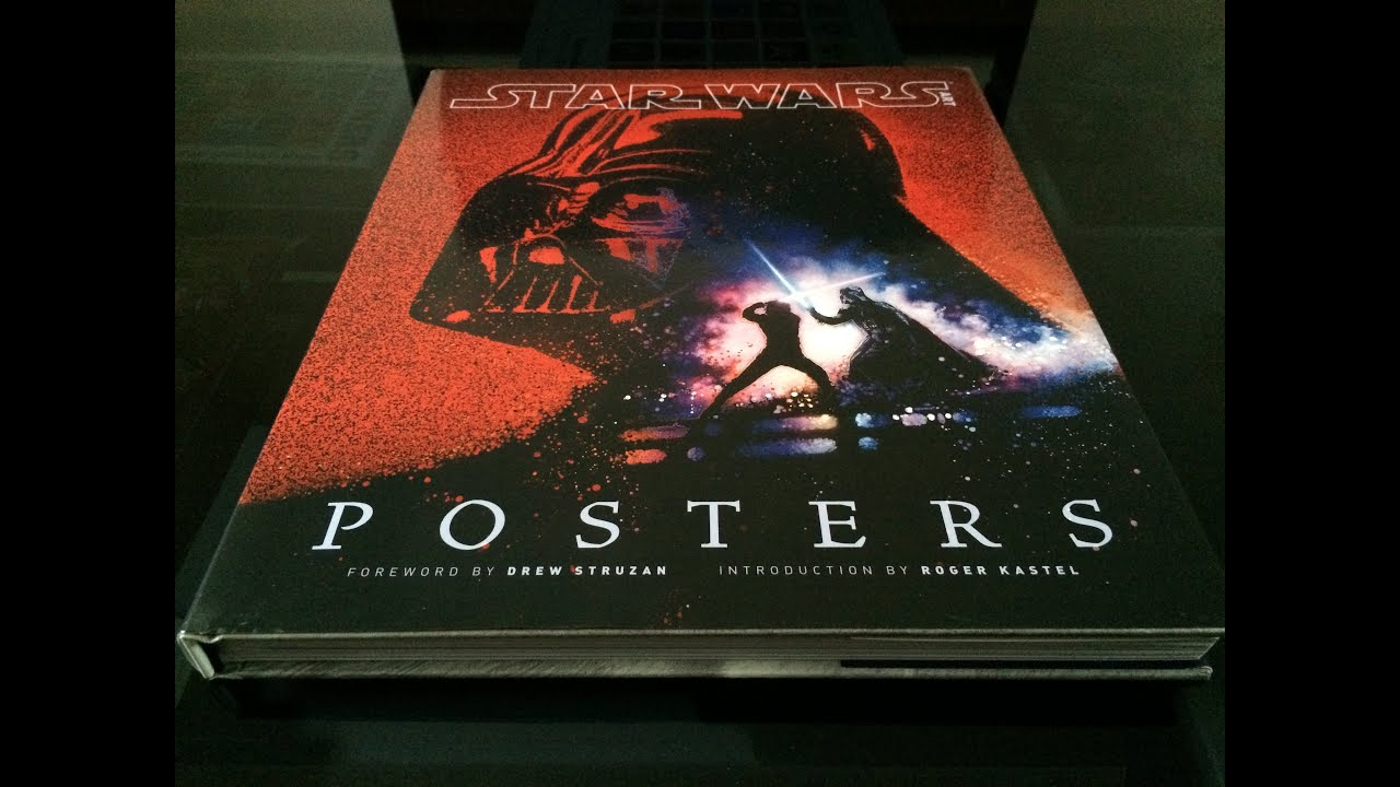 Star Wars Art Posters book YouTube