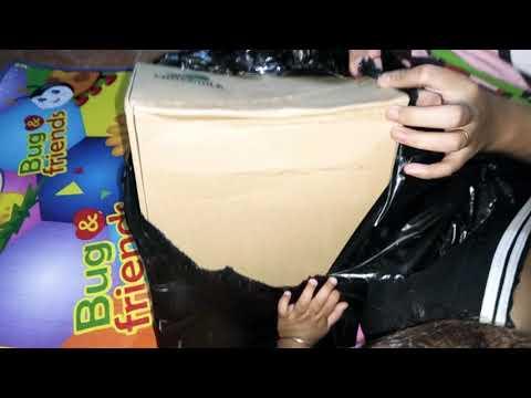 UNBOXING SEPATU BOOTS CROCODILE