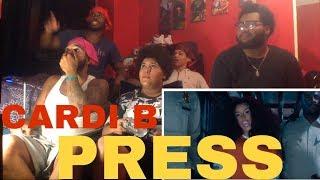 34 39 Mb Download Lagu Cardi B Press Nicki Minaj Megatron Reaction
