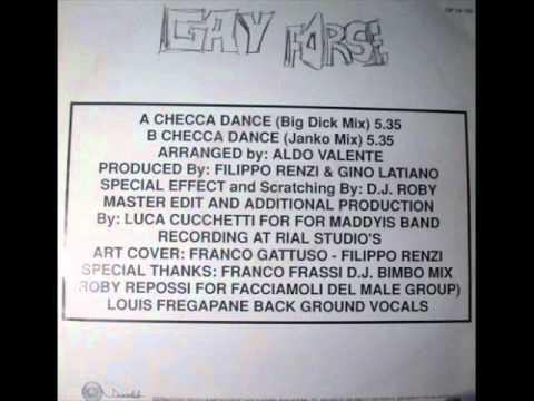 Gay Forse Featuring D.J. Roby - Checca Dance (Rare Italo-Disco)