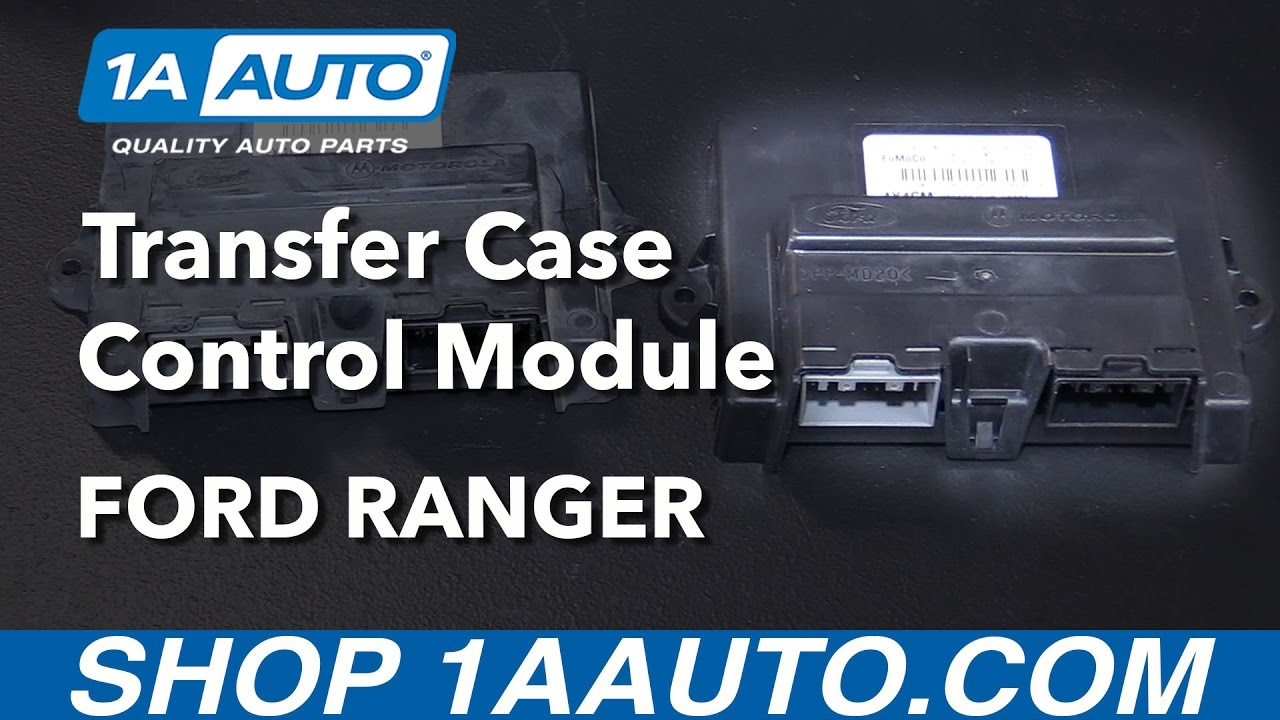 How to Replace Transfer Case Control Module 0105    Ford       Ranger     YouTube