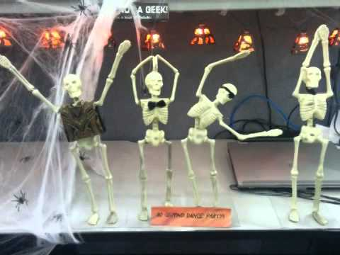office halloween decorating contest youtube - Office Halloween Decor
