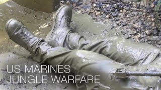He Had To Be Dragged Out – US Marines Jungle Warfare Training