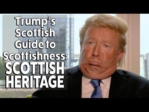 Donald Trump on his Scottish heritage