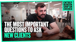 The Most Important Questions to Ask New Clients