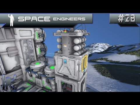 Let's Play Space Engineers - Episode 28: Testing Out The Nanobot Mod!