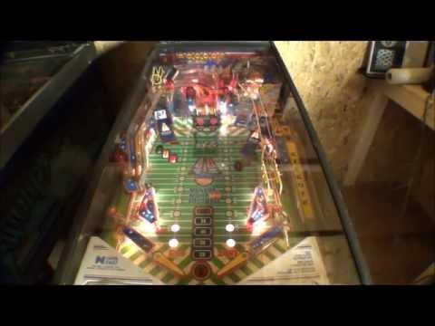 Data East Monday Night Football Pinball Machine