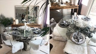 Grey And White Dining Room Ideas Youtube
