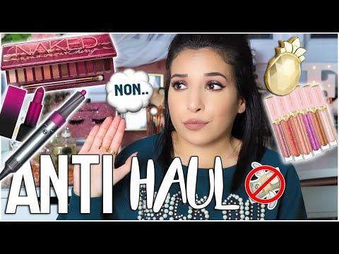 ♡ ANTI HAUL 👉� Ces produits que je nachèterai pas !