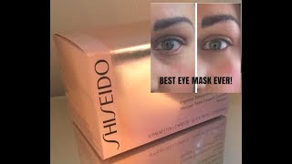 BEST EYE MASK EVER! | SHISEIDO BENEFIANCE | INSTANT DARK CIRCLE ERASER | OMG