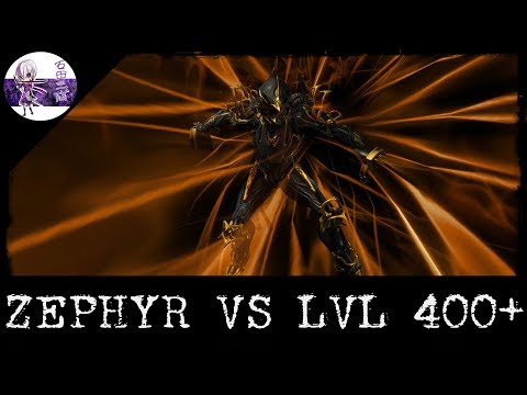 WARFRAME FR: Zephyr Prime Vs Lvl 400+ Build (U22.20)