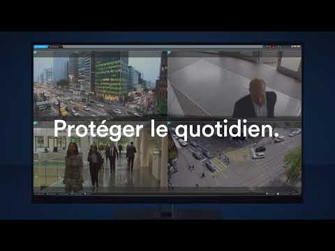 La plate-forme unifiée Genetec Security Center en action