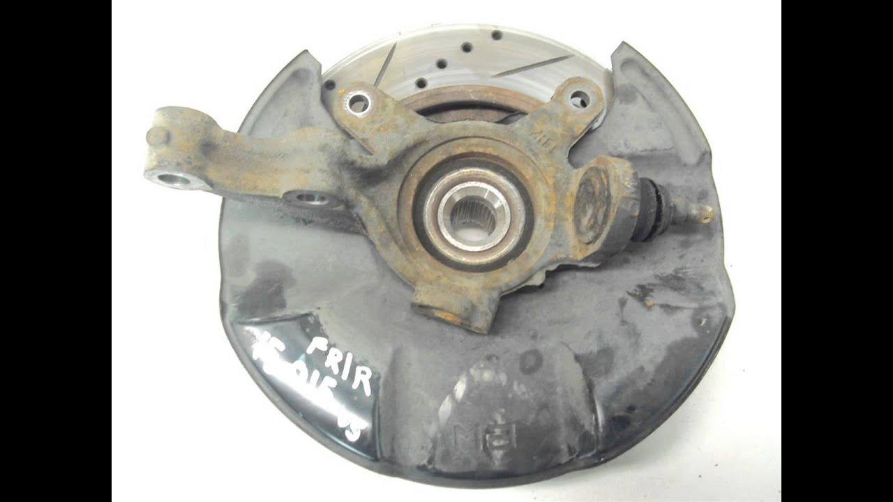 2002 Acura RSX Front Spindle/Knuckle/Hub FR/R SPINDLE ...